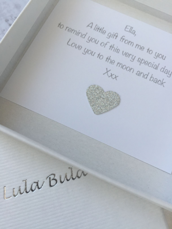 Christening jewellery gift - silver locket